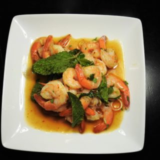Pla Goong, Thai Spicy Shrimp Salad