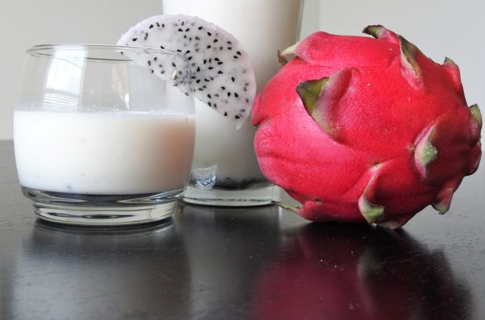 Dragonfruit Coconut Protein Smoothie