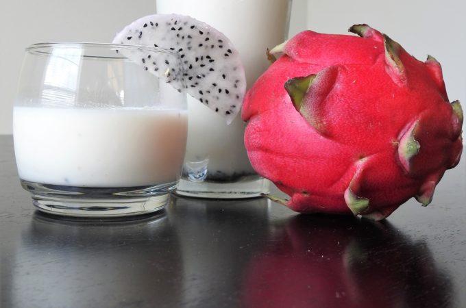 Dragonfruit Coconut Protein Smoothie