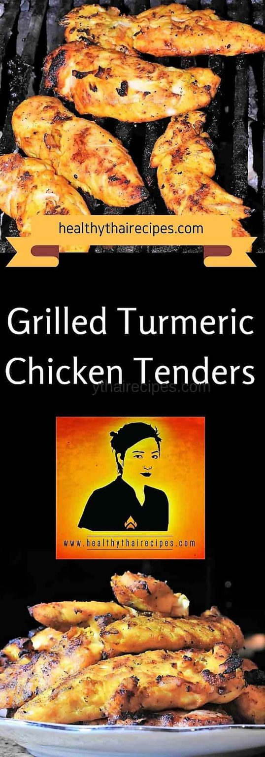 Grilled Turmeric Chicken Tenders