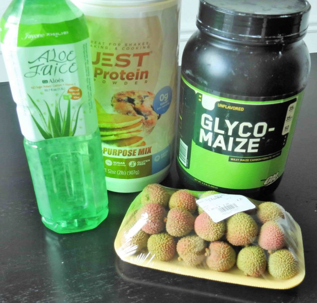 Lychee Aloe Smoothie Ingredients