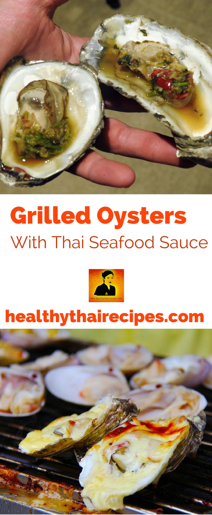Grilled Oysters With Thai Seafood Sauce
