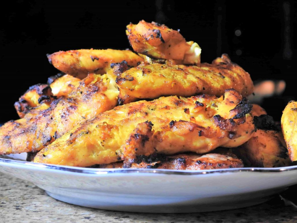 Turmeric Chicken Tenders are a great finger food