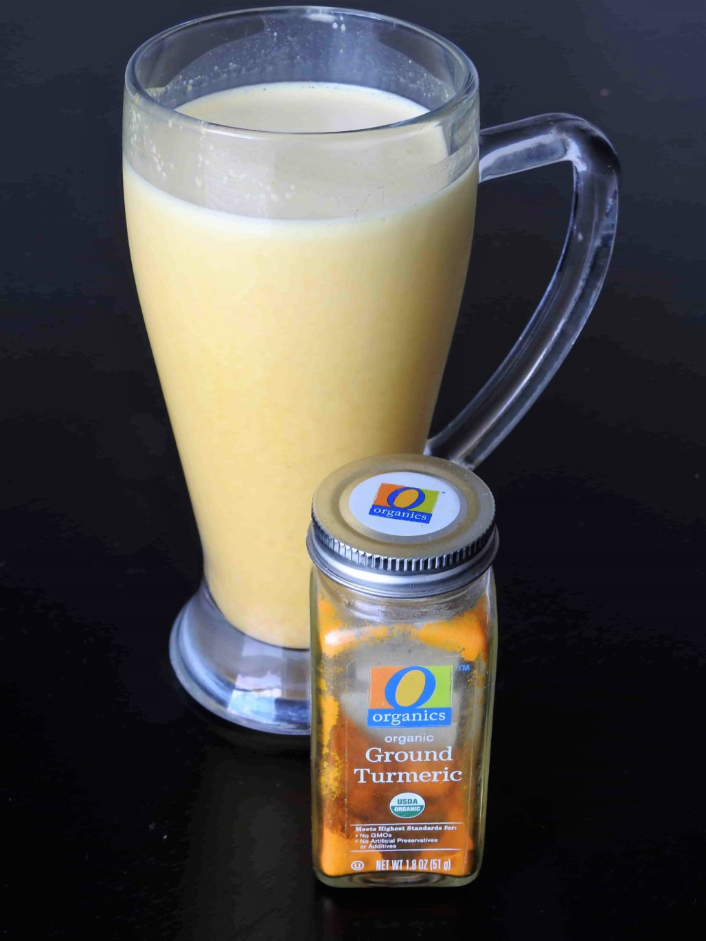 Turmeric Recovery Protein Smoothie is a tasty way to get anti-inflammatory effects and protein