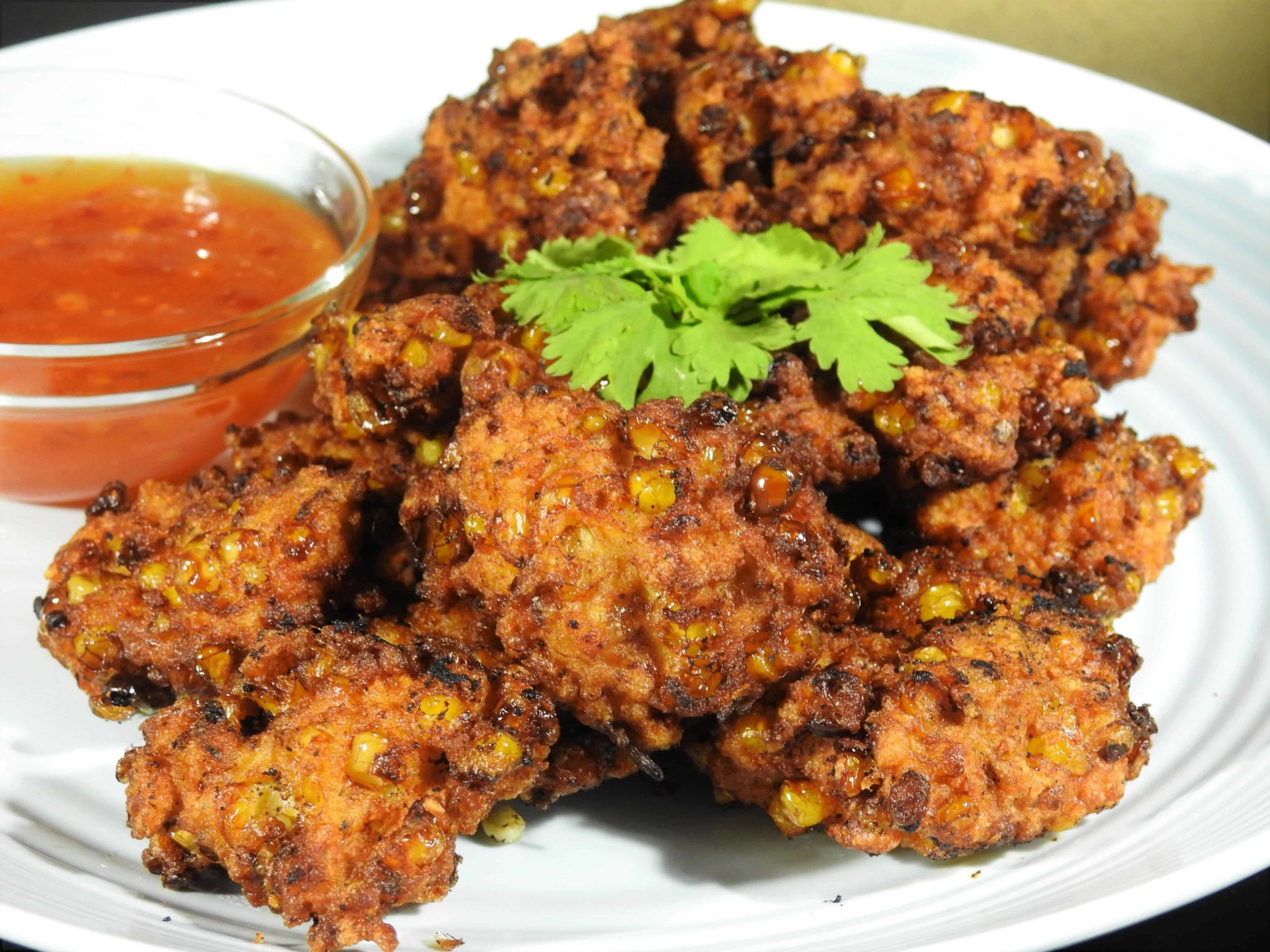 Chicken Corn Patties
