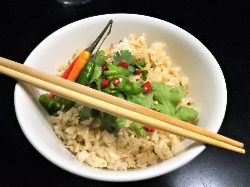 Tom Ka Gai Rice