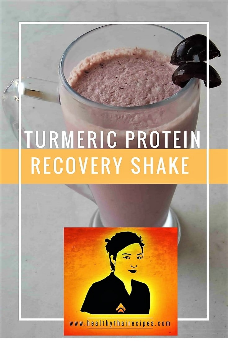 Turmeric Protein Recovery Smoothie