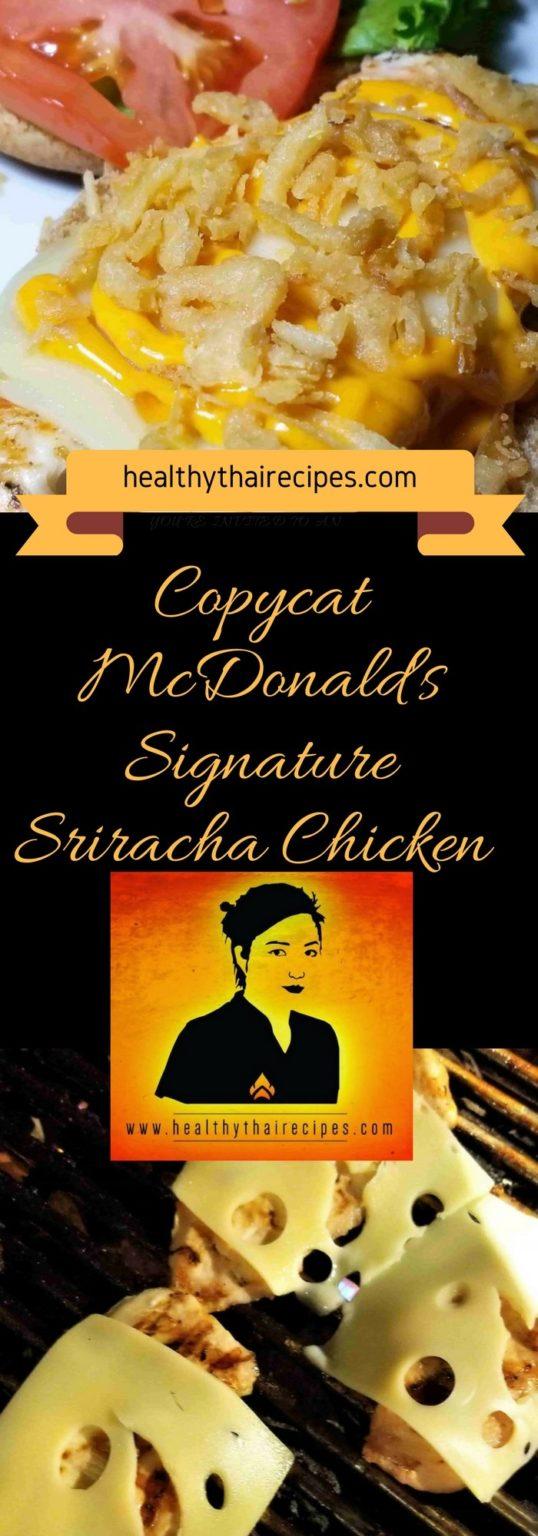 Copycat Sriracha Chicken Sandwich