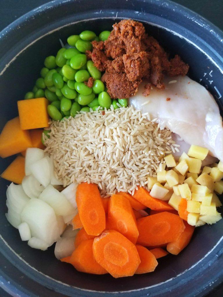 Rice Cooker Thai Masaman Curry