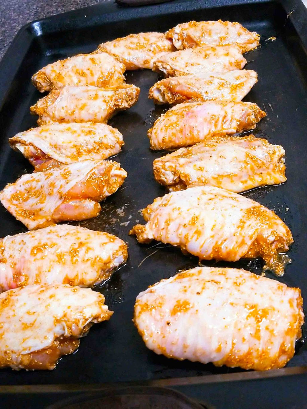 Thai Laab Seasoned Chicken Wings