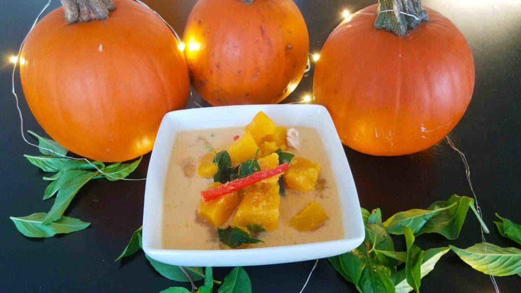 Thai pumpkin curry recipe
