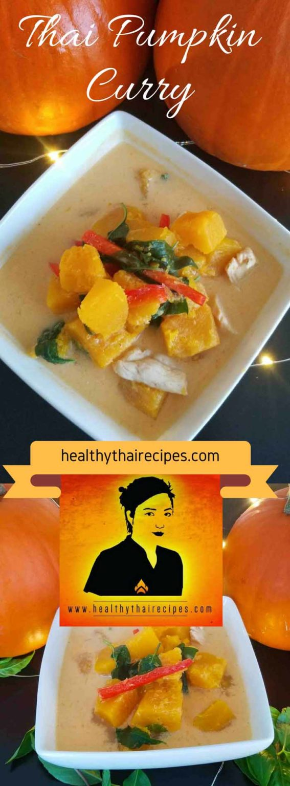 Thai Pumpkin Curry Pinterest Image