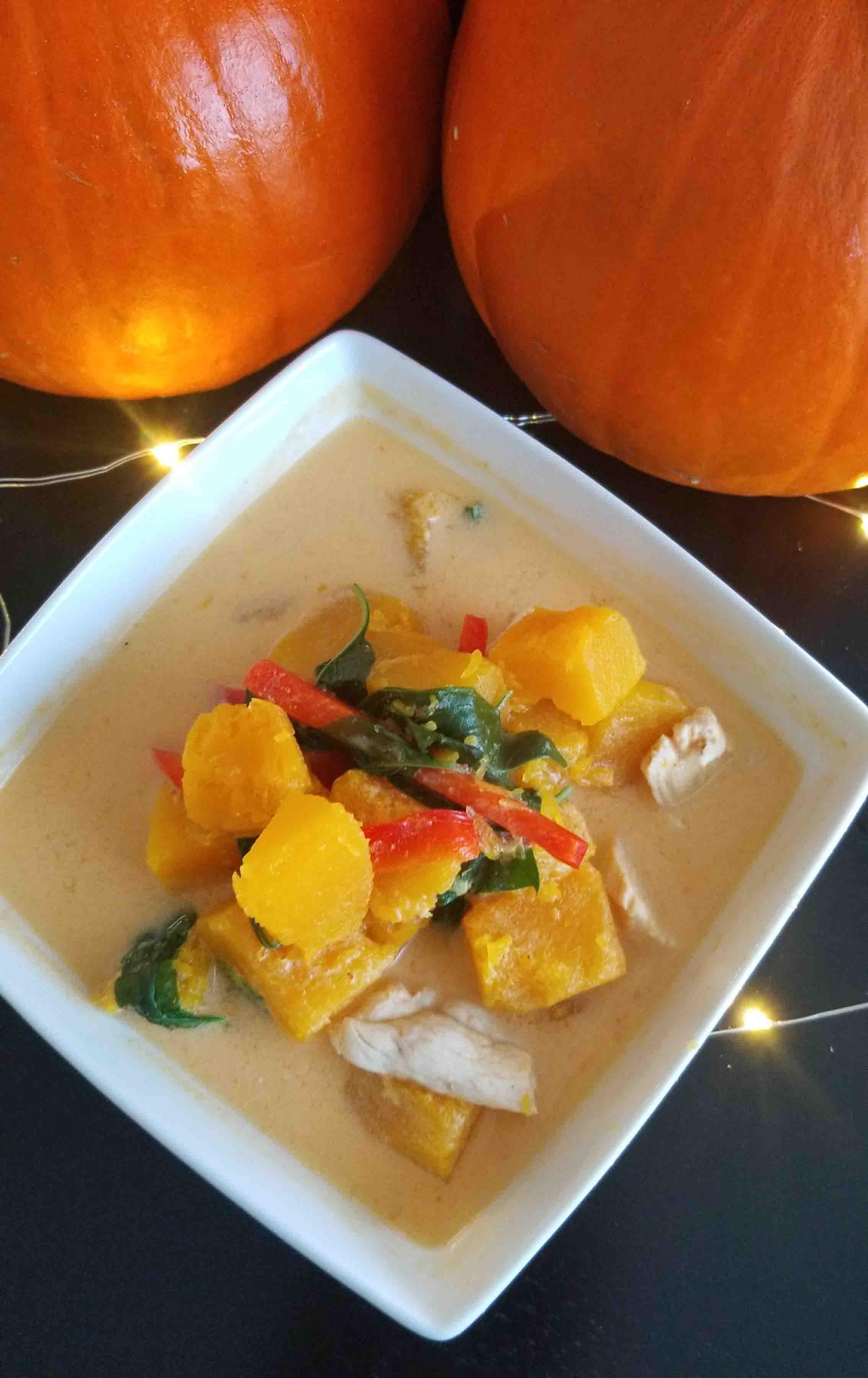 Festive Thai Pumpkin Curry