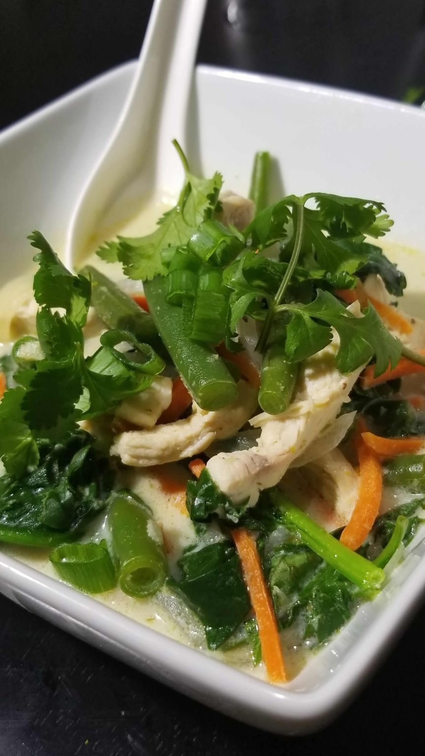 Copycat Pei Wei Super Green Thai Curry