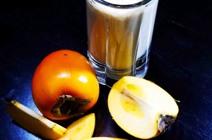 Chinese Persimmon Smoothie