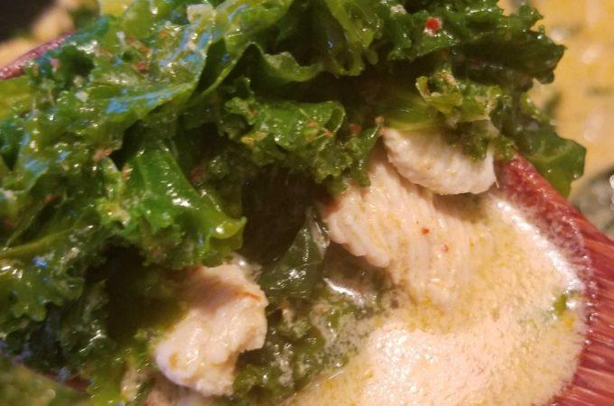 Kale Chicken Curry
