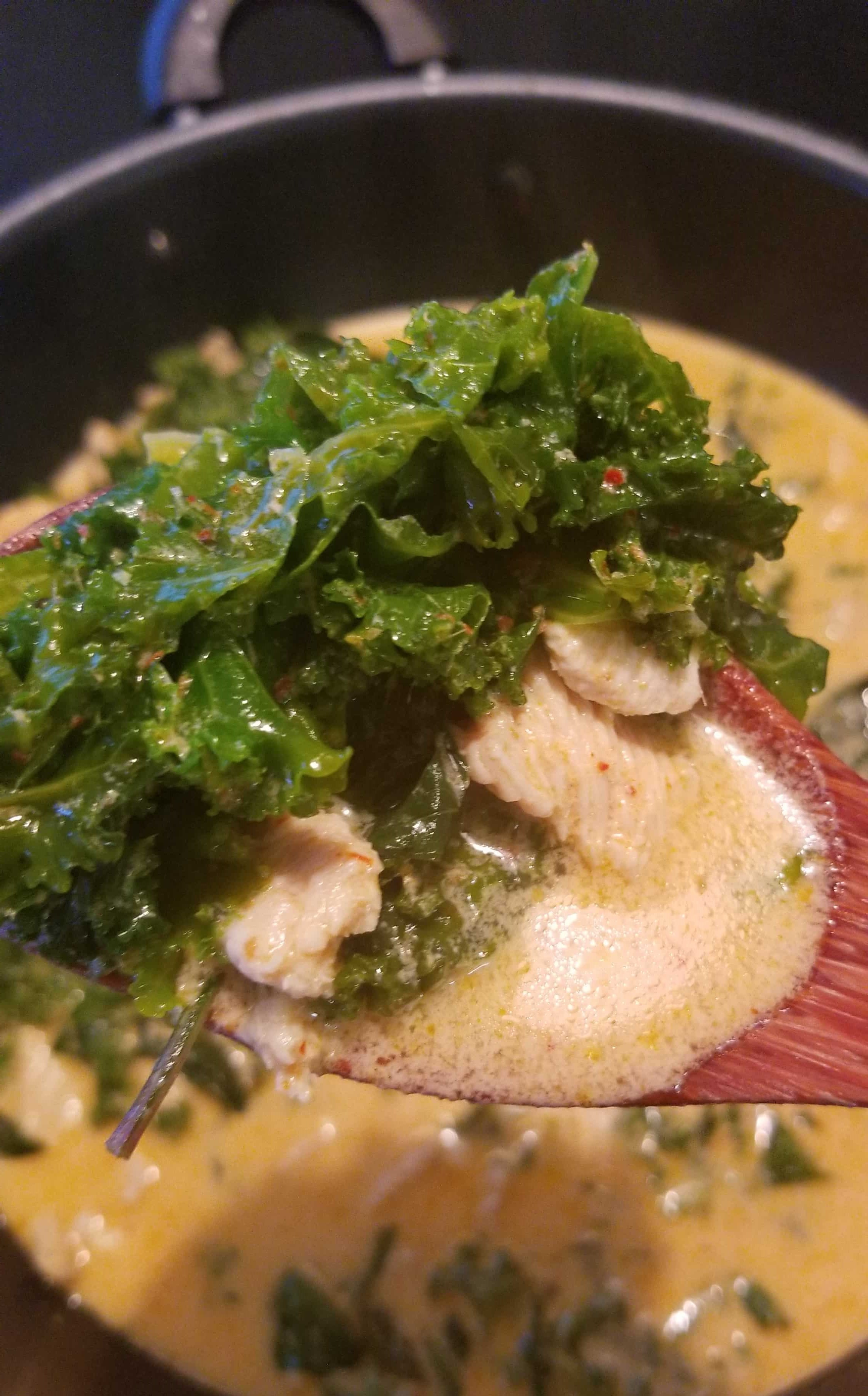 Kale Red Curry Recipe