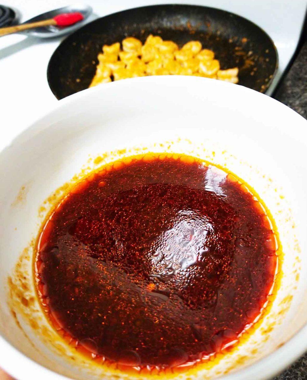 Sambal Chili Garlic Salad Dressing