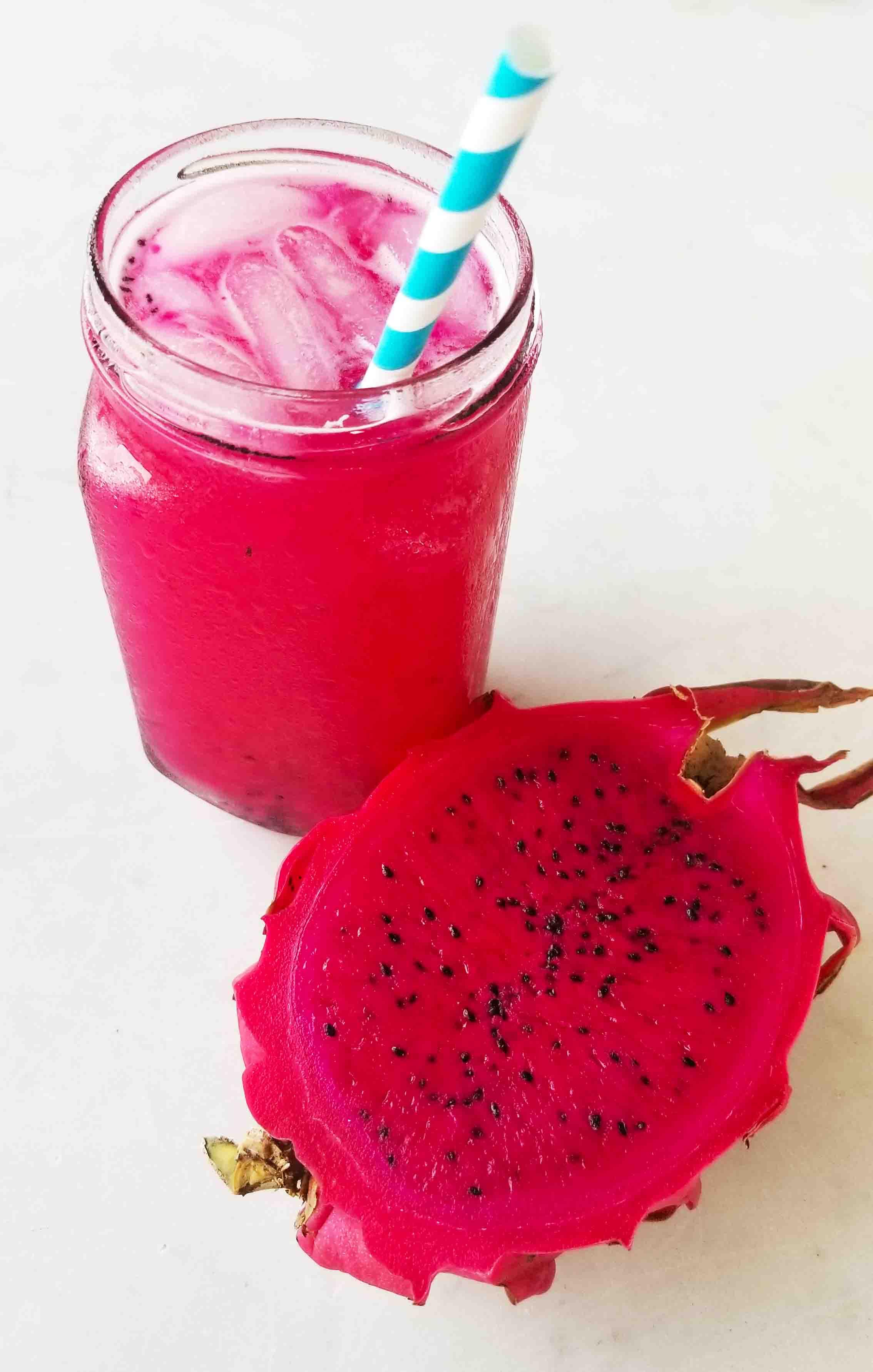 Copycat Starbucks Dragonfruit Mango Refresher Recipe
