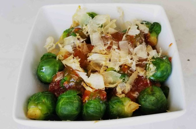 Thai Sweet Chili Brussels Sprouts