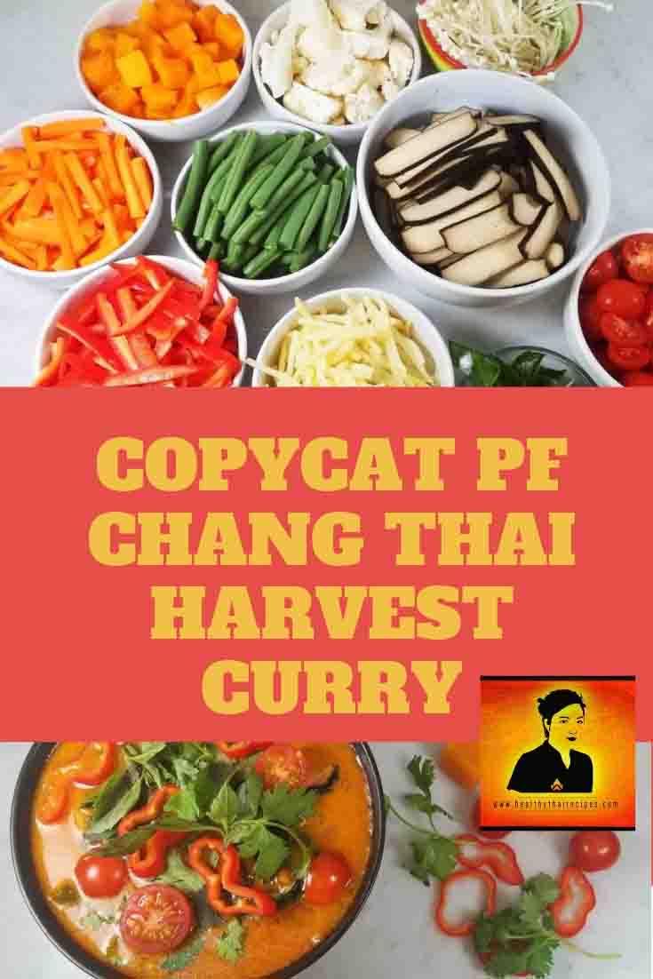 COPYCAT PF CHANG THAI HARVEST CURRY Pinterest Image