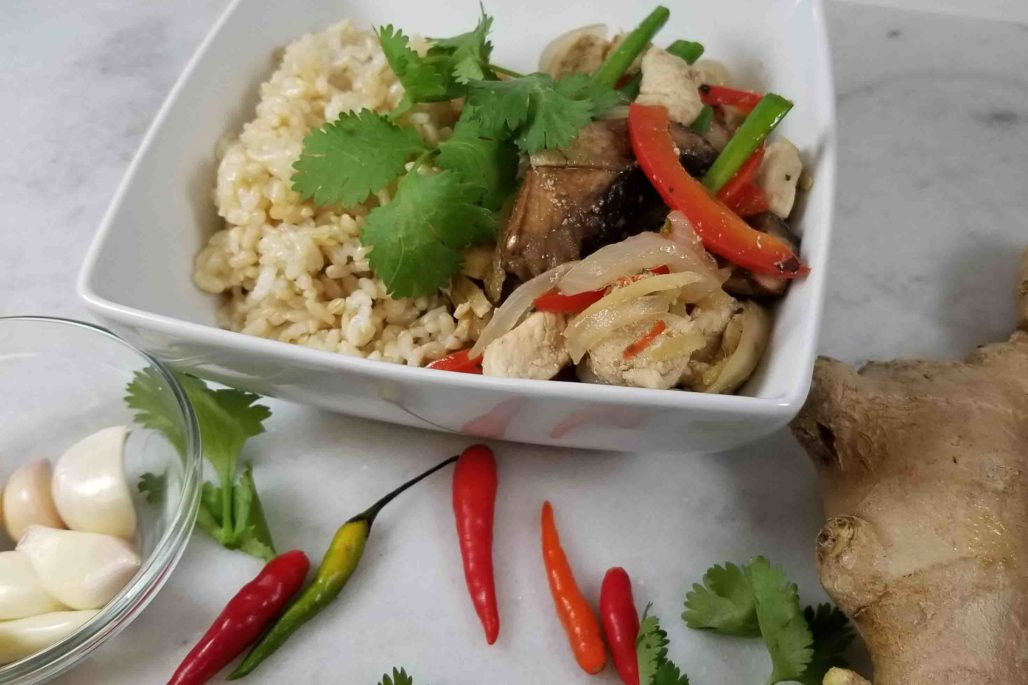 Ginger Thai Recipe