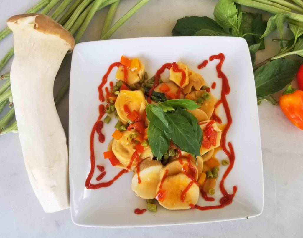 Stir-Fried King Mushroom Recipe