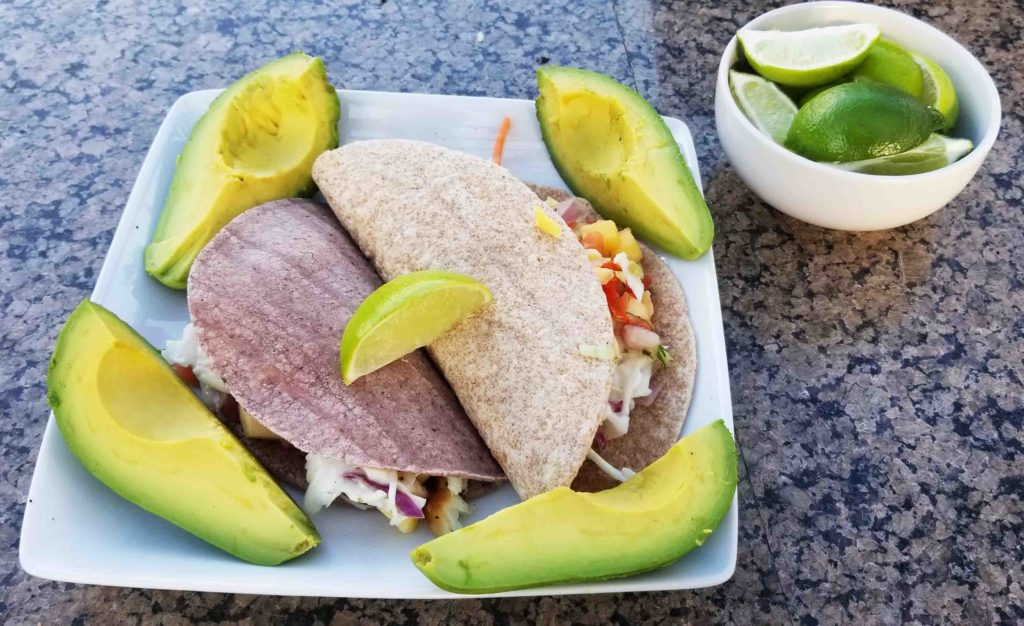 Healthy Thai Grilled Fish Tacos