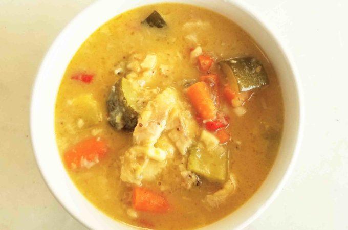 Thai Green Curry Fish Instant Pot Recipe