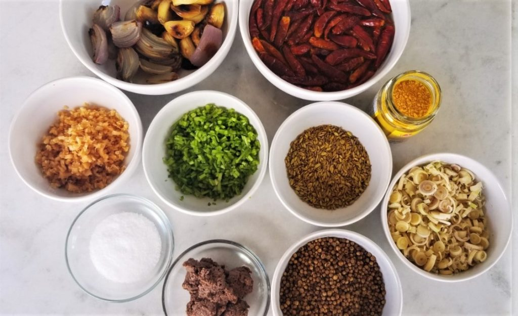 Yellow Curry Paste Ingredients