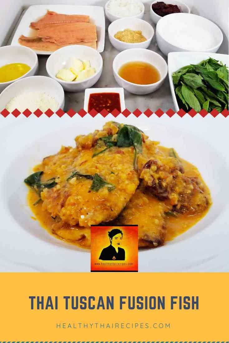 Creamy Thai Fusion Basil Fish