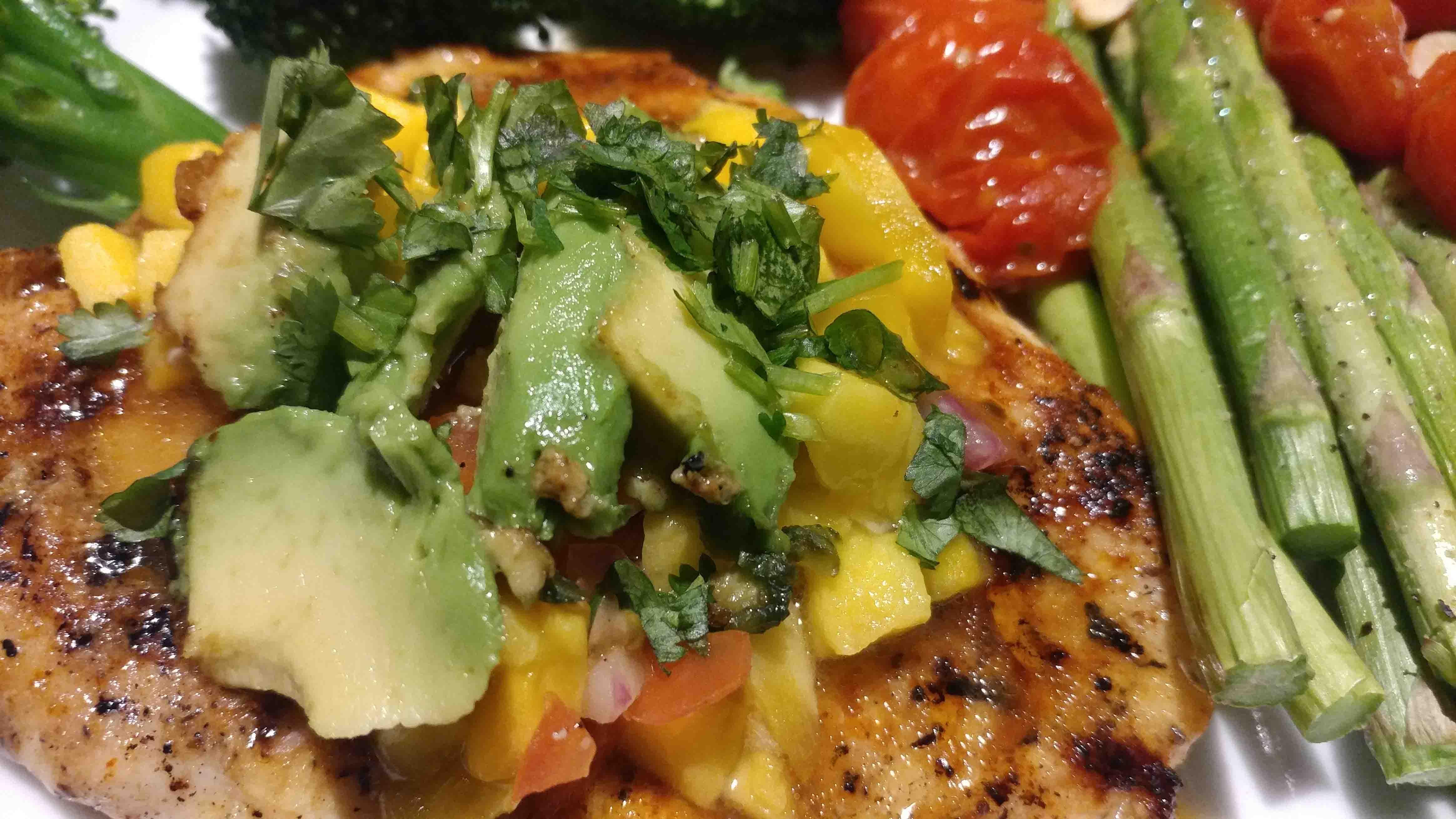 Copycat Chili S Mango Chili Chicken With Thai Chili Healthy Thai Recipes