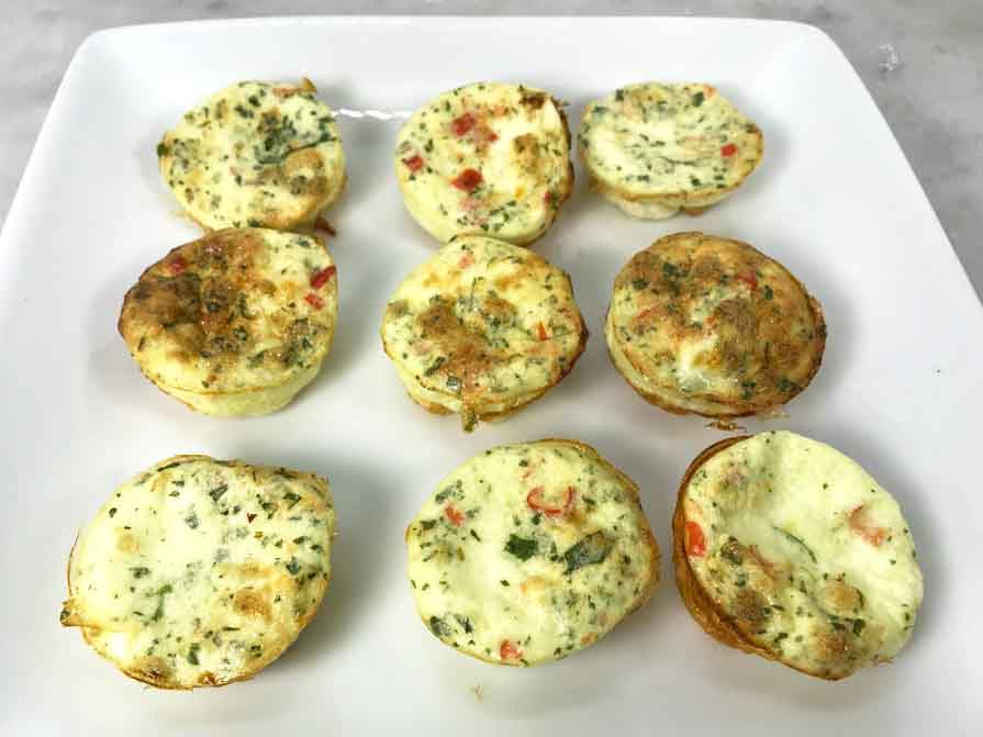 Copycat Starbucks Sous Vide Egg Bites Egg White Red Spicy Thai Pepper