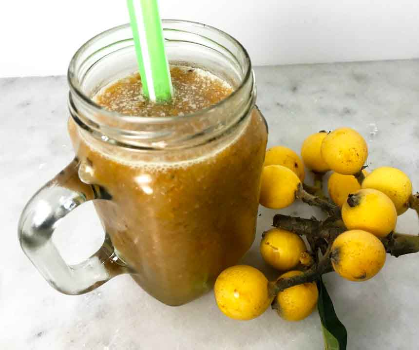 Loquat Coconut Refresher Recipe