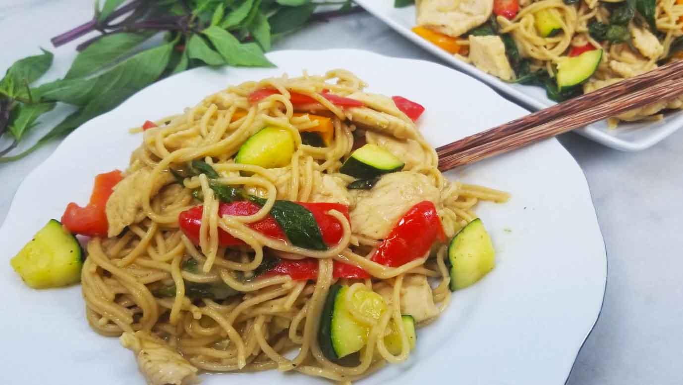 Thai Green Curry Spaghetti