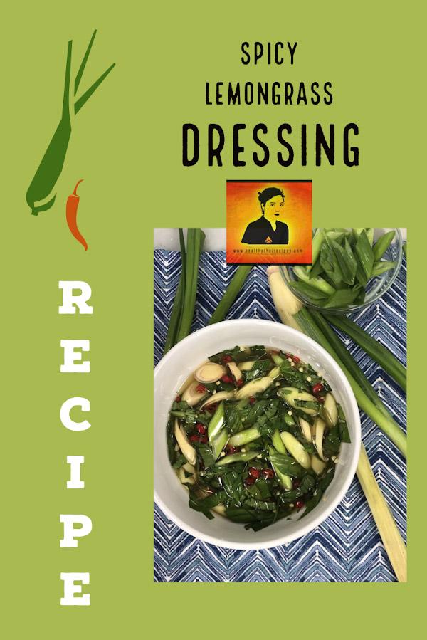 Spicy Thai Lemongrass Basil Dressing