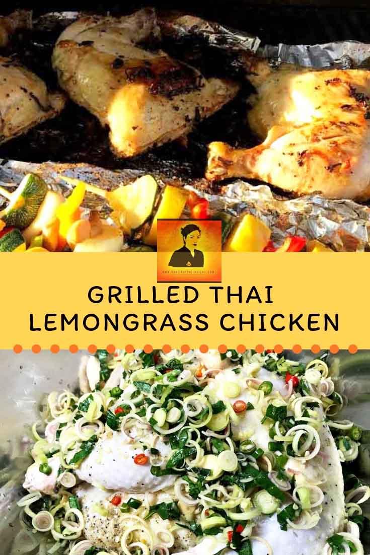 Grilled Thai Lemongrass Pinterest Image