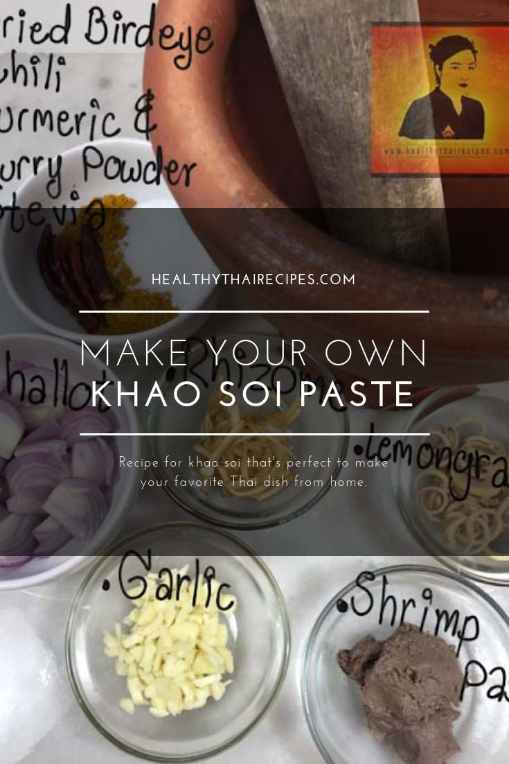 Khao soi paste recipe pinterest image