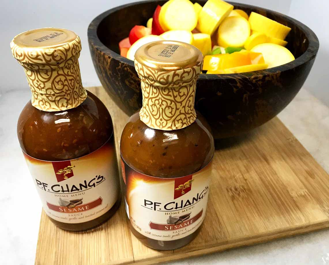 PF Chang's Sesame Sauce Grilled Vegetables Ingredients