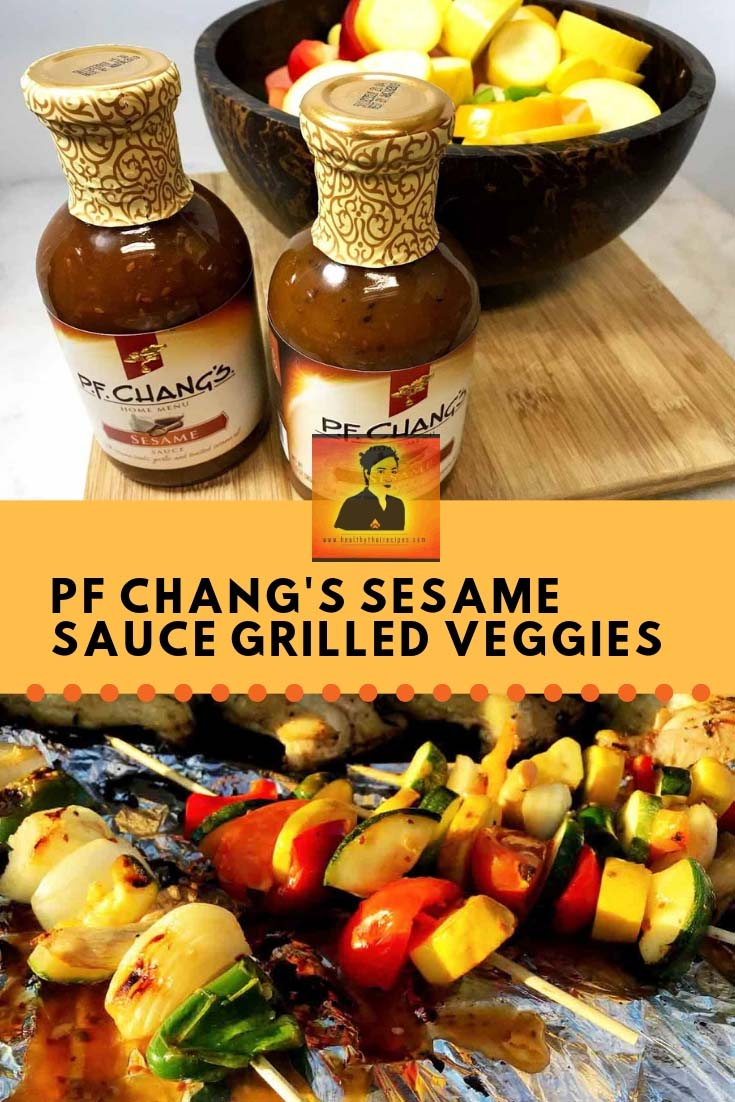 PF Chang's Sesame Sauce Grilled Vegetables Recipe