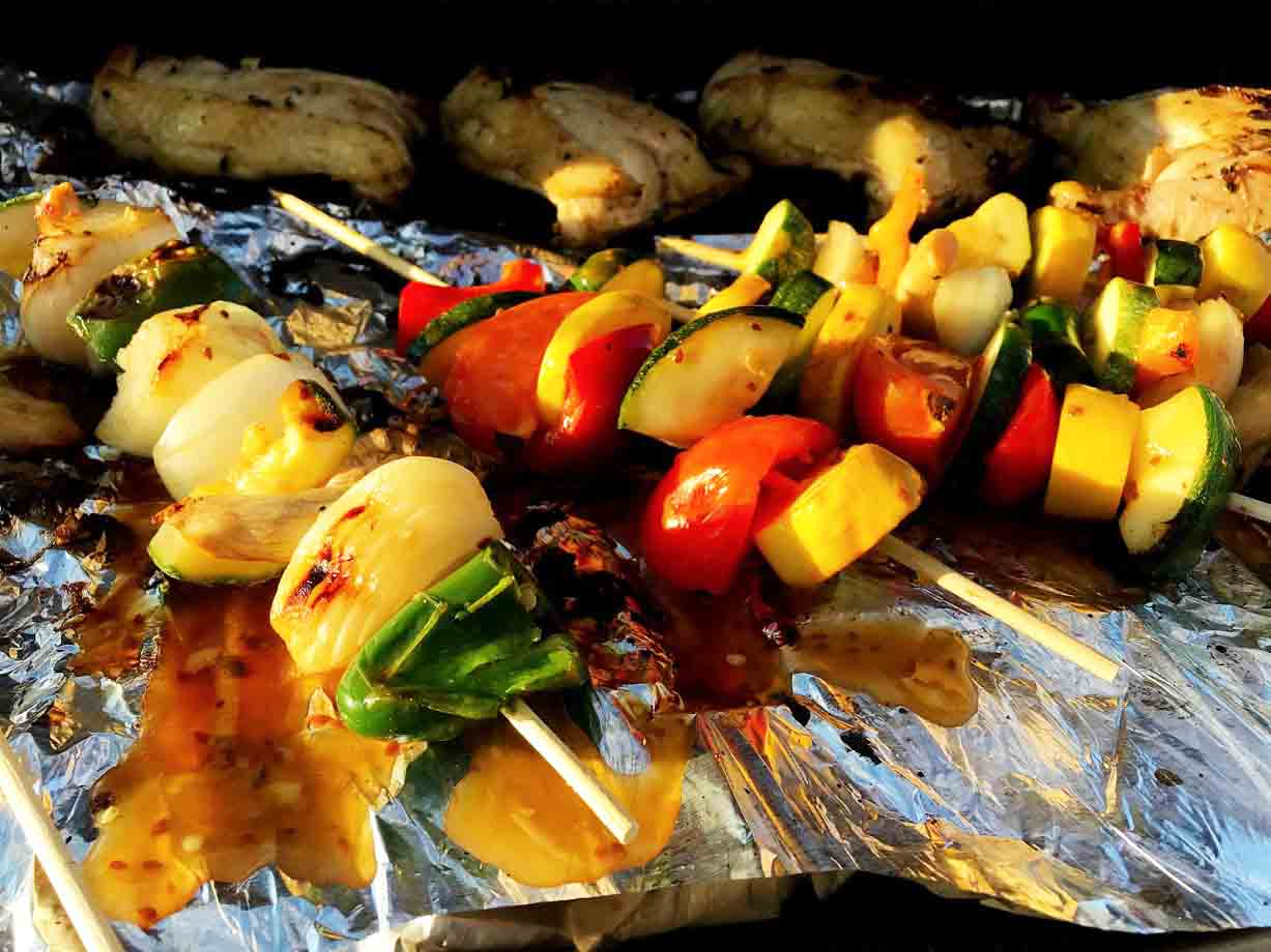 PF Chang's Sesame Sauce Grilled Vegetables