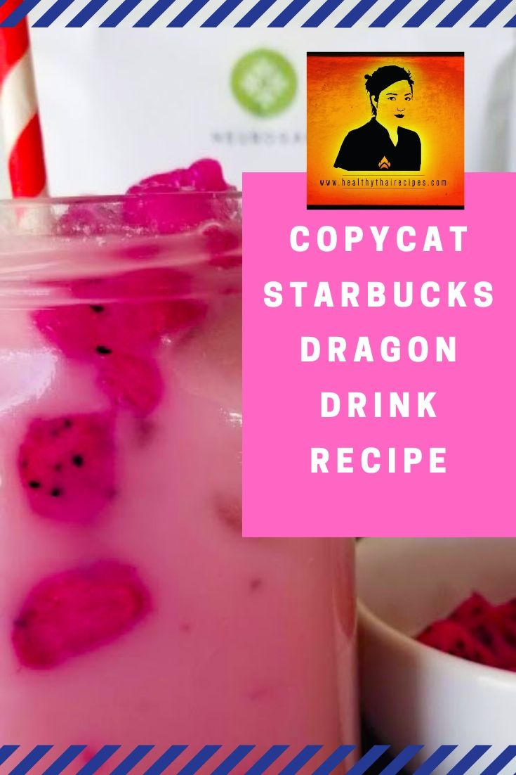 Copycat Starbucks Dragon Drink Recipe