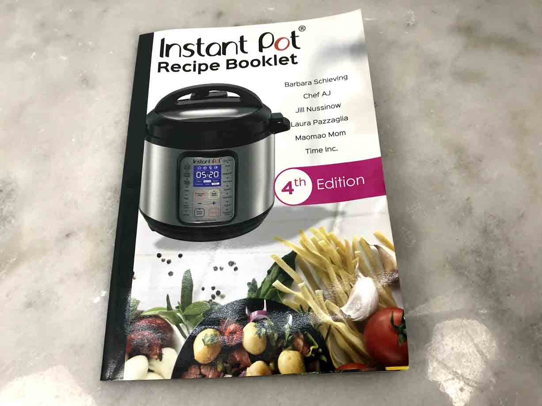 Instant Pot Recipe Booklet