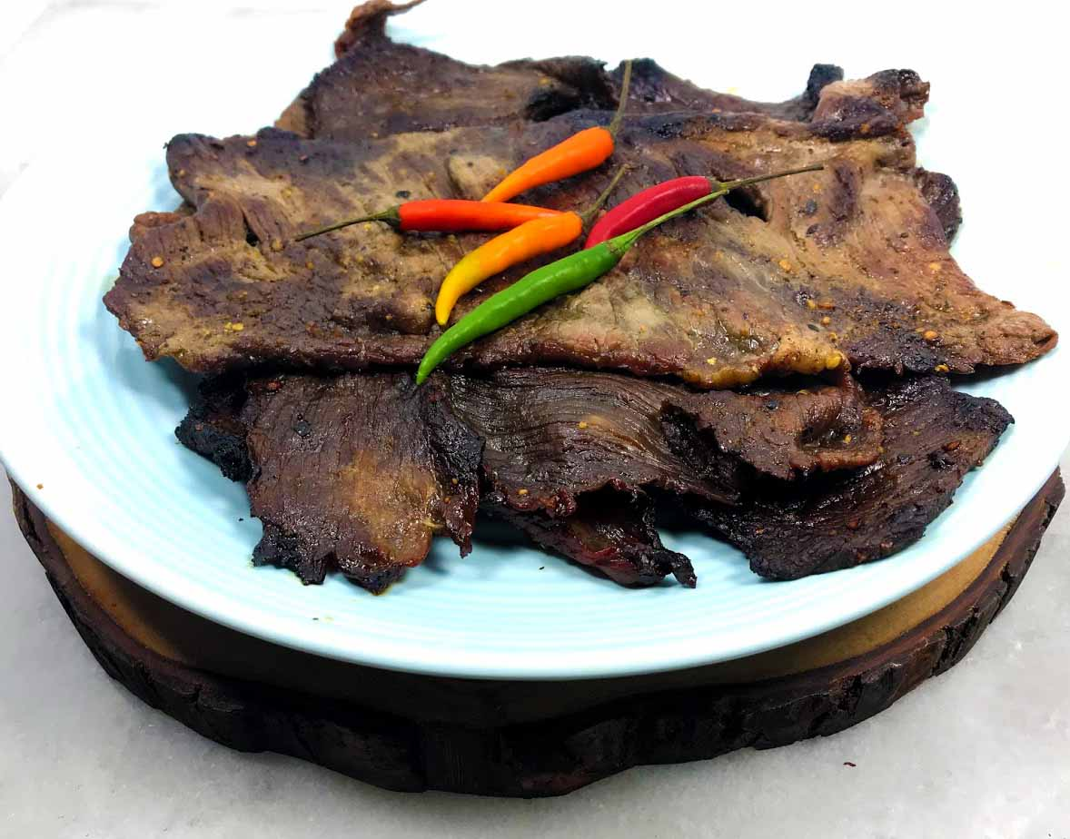 Norther Thai Style Grilled Cecina Beef, Dried Meat Recipe - Healthy Thai Recipes
