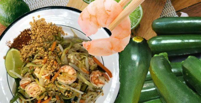 Pad Thai Zoodles Recipe