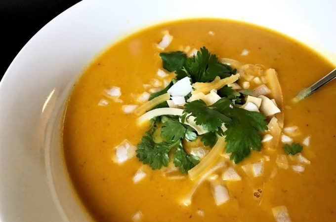 Spicy Thai Coconut and Butternut Squash