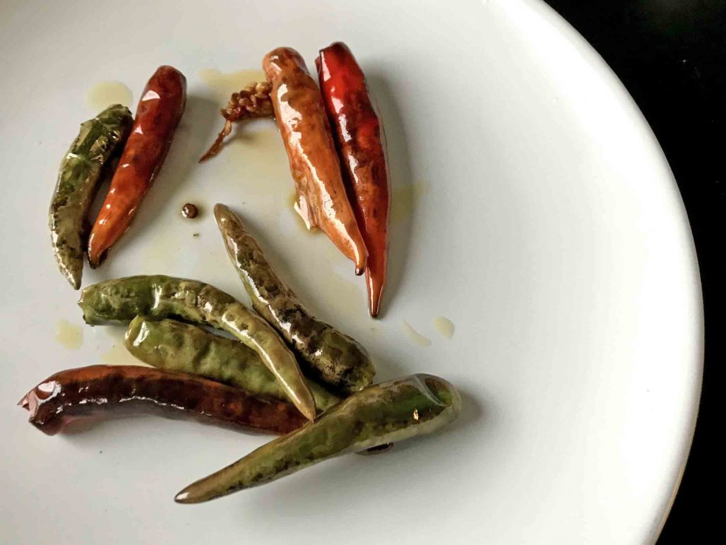Stir-Fried Thai Peppers