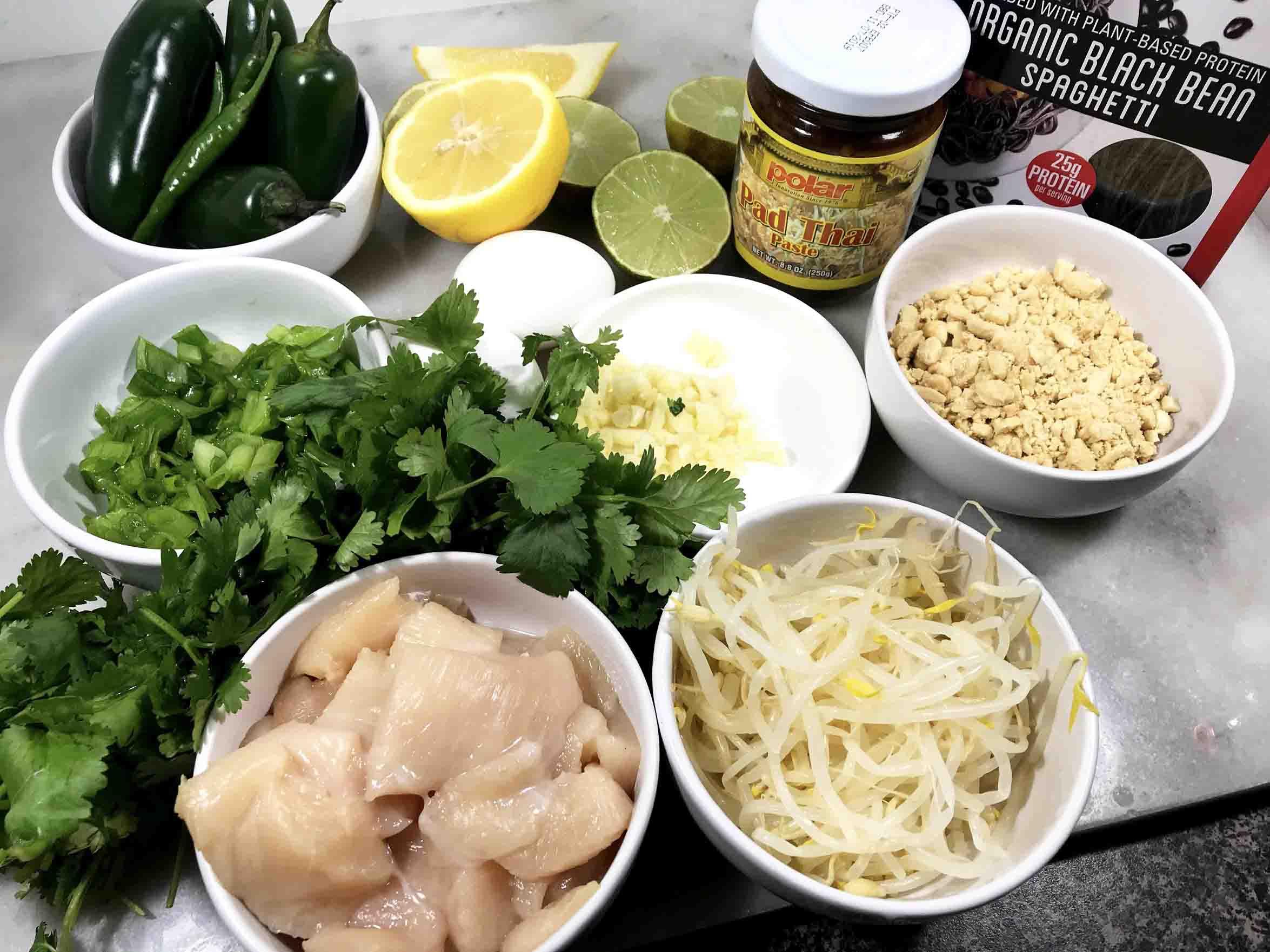 Black Bean Noodle Pad Thai