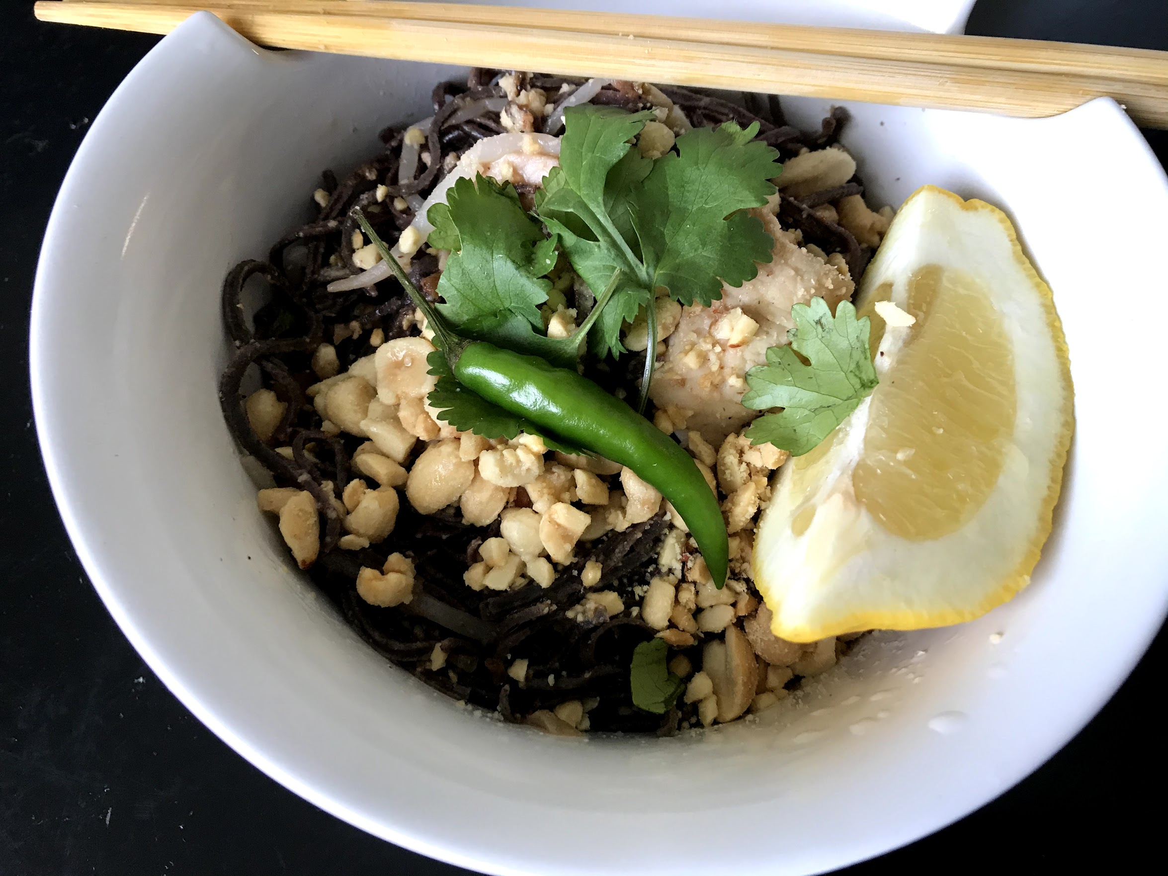 Black Bean Pad Thai
