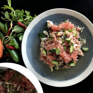 Grapefruit and Crab Salad